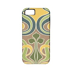 Art Floral Apple Iphone 5 Classic Hardshell Case (pc+silicone) by 8fugoso