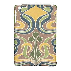 Art Floral Apple Ipad Mini Hardshell Case (compatible With Smart Cover) by 8fugoso
