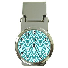 Art Deco Teal Money Clip Watches by 8fugoso