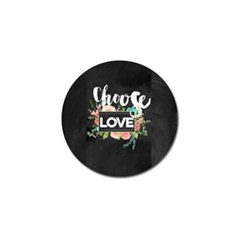 Love Golf Ball Marker (10 Pack) by 8fugoso