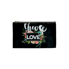 Love Cosmetic Bag (small)  by 8fugoso