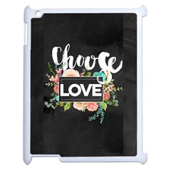 Love Apple Ipad 2 Case (white) by 8fugoso