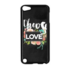 Love Apple Ipod Touch 5 Case (black) by 8fugoso