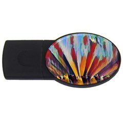 3abstractionism Usb Flash Drive Oval (2 Gb) by 8fugoso