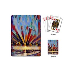 3abstractionism Playing Cards (mini)  by 8fugoso