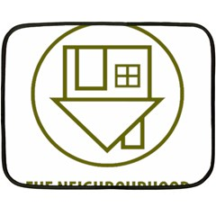The Neighbourhood Logo Fleece Blanket (mini) by Celenk