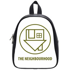 The Neighbourhood Logo School Bag (small) by Celenk