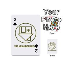 The Neighbourhood Logo Playing Cards 54 (mini)  by Celenk