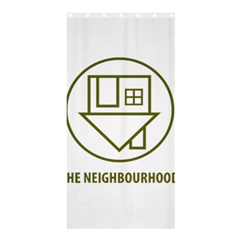 The Neighbourhood Logo Shower Curtain 36  X 72  (stall)  by Celenk