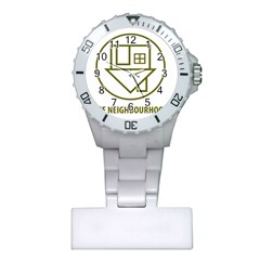 The Neighbourhood Logo Plastic Nurses Watch by Celenk
