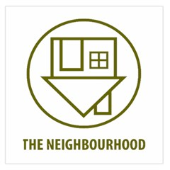 The Neighbourhood Logo Large Satin Scarf (square) by Celenk