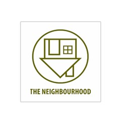 The Neighbourhood Logo Satin Bandana Scarf by Celenk