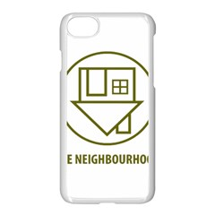 The Neighbourhood Logo Apple Iphone 8 Seamless Case (white) by Celenk