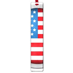 United Of America Usa Flag Large Book Marks by Celenk
