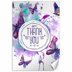 Thank You Canvas 12  X 18   by Celenk