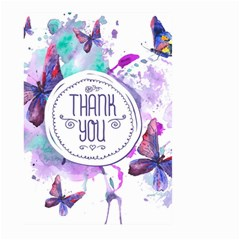 Thank You Large Garden Flag (two Sides) by Celenk