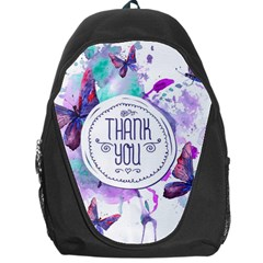 Thank You Backpack Bag by Celenk