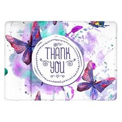 Thank You Samsung Galaxy Tab 10 1  P7500 Flip Case by Celenk