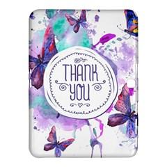 Thank You Samsung Galaxy Tab 4 (10 1 ) Hardshell Case  by Celenk
