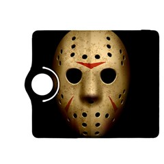 Jason Hockey Goalie Mask Kindle Fire Hdx 8 9  Flip 360 Case by Celenk