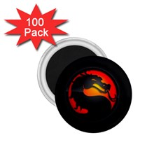 Dragon 1 75  Magnets (100 Pack)  by Celenk