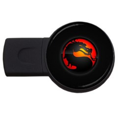 Dragon Usb Flash Drive Round (2 Gb) by Celenk