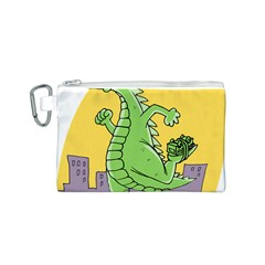 Dragon Canvas Cosmetic Bag (s) by Celenk