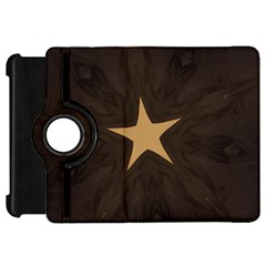 Rustic Elegant Brown Christmas Star Design Kindle Fire Hd 7  by yoursparklingshop