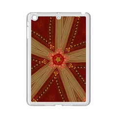Red Star Ribbon Elegant Kaleidoscopic Design Ipad Mini 2 Enamel Coated Cases by yoursparklingshop