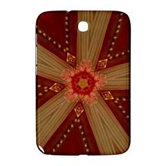 Red Star Ribbon Elegant Kaleidoscopic Design Samsung Galaxy Note 8 0 N5100 Hardshell Case  by yoursparklingshop