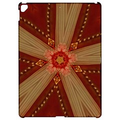 Red Star Ribbon Elegant Kaleidoscopic Design Apple Ipad Pro 12 9   Hardshell Case by yoursparklingshop