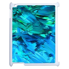 Abstract Acryl Art Apple Ipad 2 Case (white) by tarastyle
