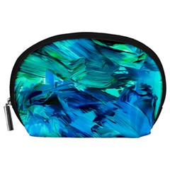 Abstract Acryl Art Accessory Pouches (large)  by tarastyle