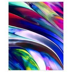 Abstract Acryl Art Drawstring Bag (small) by tarastyle