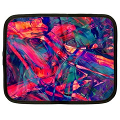 Abstract Acryl Art Netbook Case (large) by tarastyle