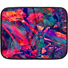Abstract Acryl Art Fleece Blanket (mini) by tarastyle