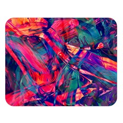 Abstract Acryl Art Double Sided Flano Blanket (large)  by tarastyle