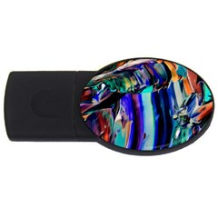 Abstract Acryl Art Usb Flash Drive Oval (2 Gb) by tarastyle