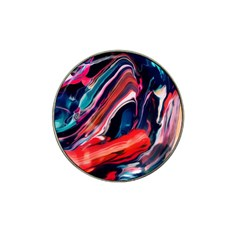 Abstract Acryl Art Hat Clip Ball Marker (4 Pack) by tarastyle