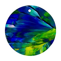 Abstract Acryl Art Round Ornament (two Sides) by tarastyle