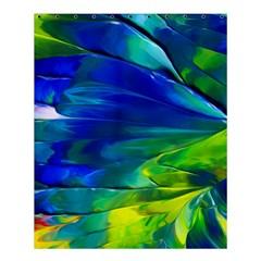 Abstract Acryl Art Shower Curtain 60  X 72  (medium)  by tarastyle