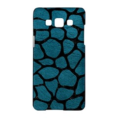 Skin1 Black Marble & Teal Leather (r) Samsung Galaxy A5 Hardshell Case  by trendistuff