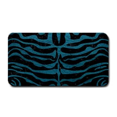 Skin2 Black Marble & Teal Leather (r) Medium Bar Mats by trendistuff