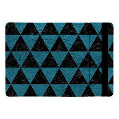 Triangle3 Black Marble & Teal Leather Apple Ipad Pro 10 5   Flip Case by trendistuff