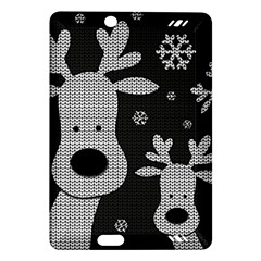 Cute Reindeer  Amazon Kindle Fire Hd (2013) Hardshell Case by Valentinaart