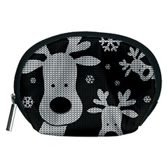Cute Reindeer  Accessory Pouches (medium)  by Valentinaart