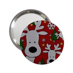 Cute Reindeer  2 25  Handbag Mirrors by Valentinaart