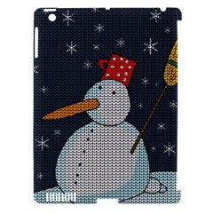 Snowman Apple Ipad 3/4 Hardshell Case (compatible With Smart Cover) by Valentinaart