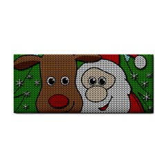 Santa And Rudolph Selfie  Cosmetic Storage Cases by Valentinaart