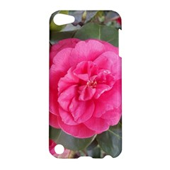 Pink Flower Japanese Tea Rose Floral Design Apple Ipod Touch 5 Hardshell Case by yoursparklingshop